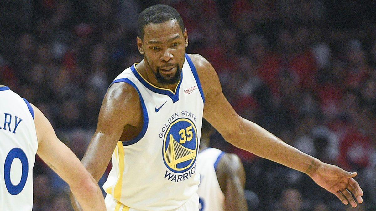 Kevin Durant injury update Steve Kerr confirms Warriors