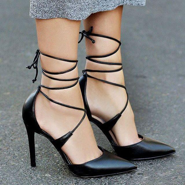Steve Madden Raela Leather Pointy Heels