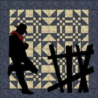 Lonesome Cowboy Wallhanging Quilt Patter | Cowboys, Western quilts ... : cowboy quilt pattern - Adamdwight.com