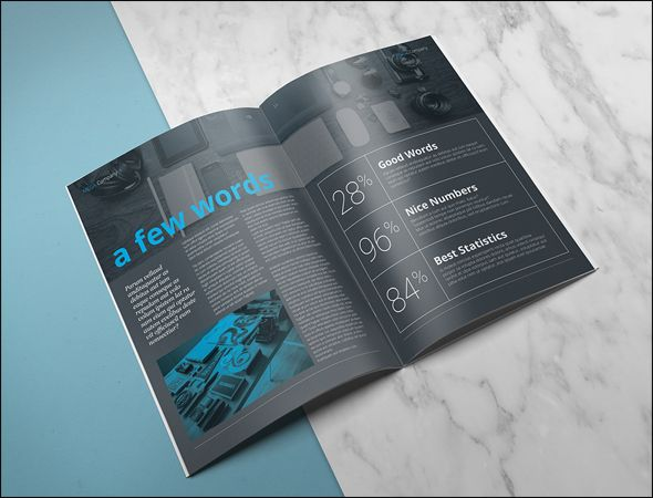 Top Corporate Brochure Template Collections Corporate - Two fold brochure template free