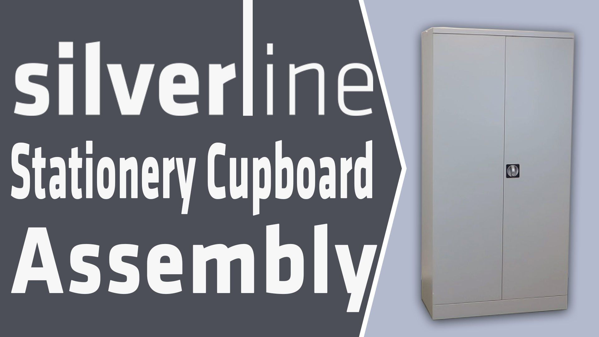 Silverline Office Furniture Assemby Instructions - How To Assemble Metal...