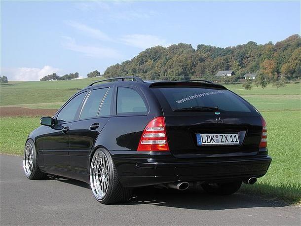 Mercede C30 AMG (W203) Black | W203 | Mercedes c55 amg