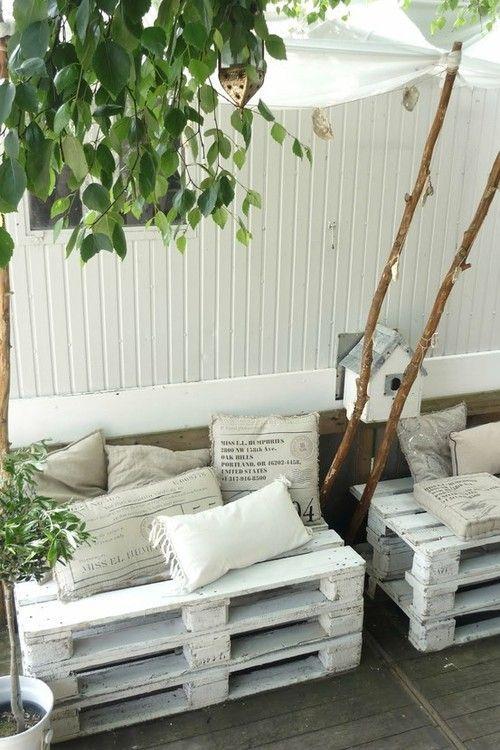 Alternativ sofa ute:) | D.I.Y---Do It Yourself | Pinterest