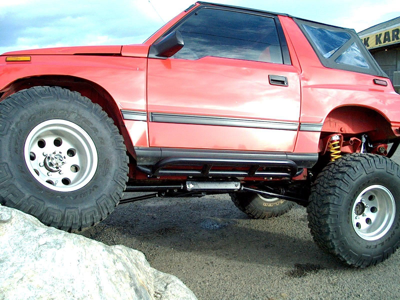 Bad Boy Rock Sliders For Suzuki Sidekick Vitara X90 And