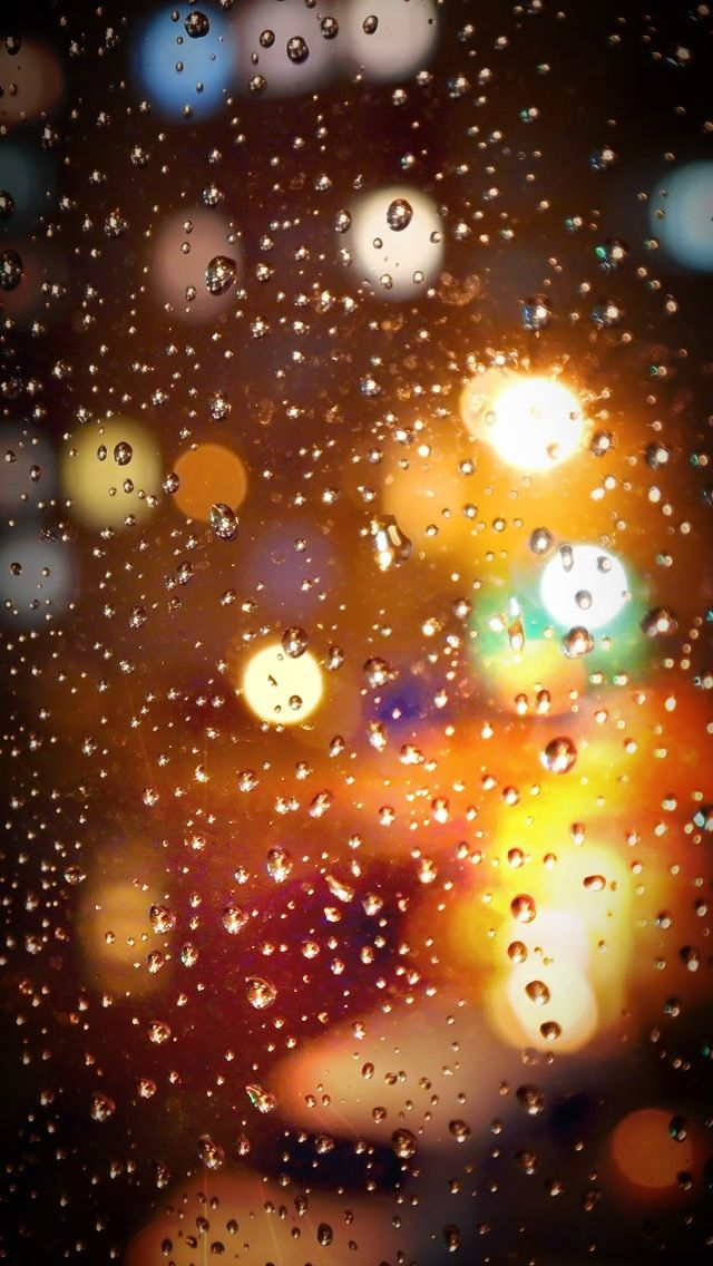 Simple And Beautiful Ios Wallpapers Iphone Romantic Rain
