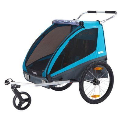 Thule Coaster Xt 2 Child Stroller And Bicycle Trailer 10101803 Bicycle
