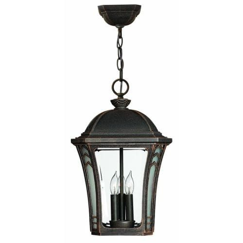 Hinkley lighting 1332 led 1 light led outdoor lantern pendant from the wabash collection museum black aluminum lantern pendant hinkley lighting and