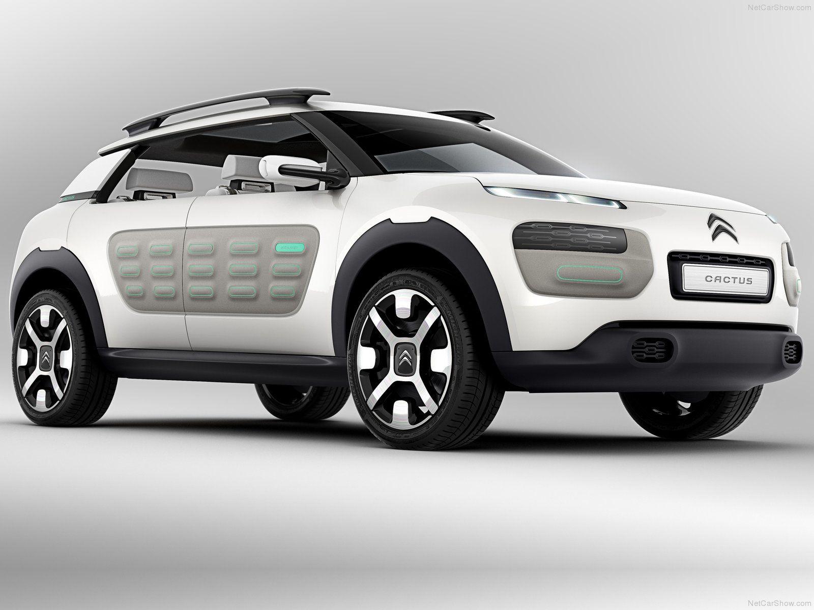Citroen Cactus Concept 2013 1600x1200 Wallpaper 04 Suv Jeep Suv