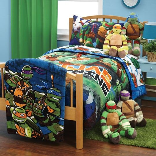 Annaslines Teenage Mutant Ninja Turtles Glow Bedding Collection Ninja Turtle Bedroom Ninja Turtles Bedroom Decor Ninja Turtle Room