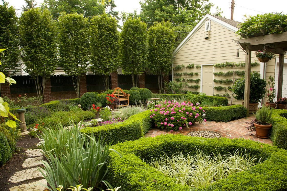 Backyard Making Backyard Flower Garden Designs to Enhance the