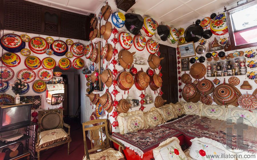 Typical Interior Of Traditional House In Ancient City Of Jugol