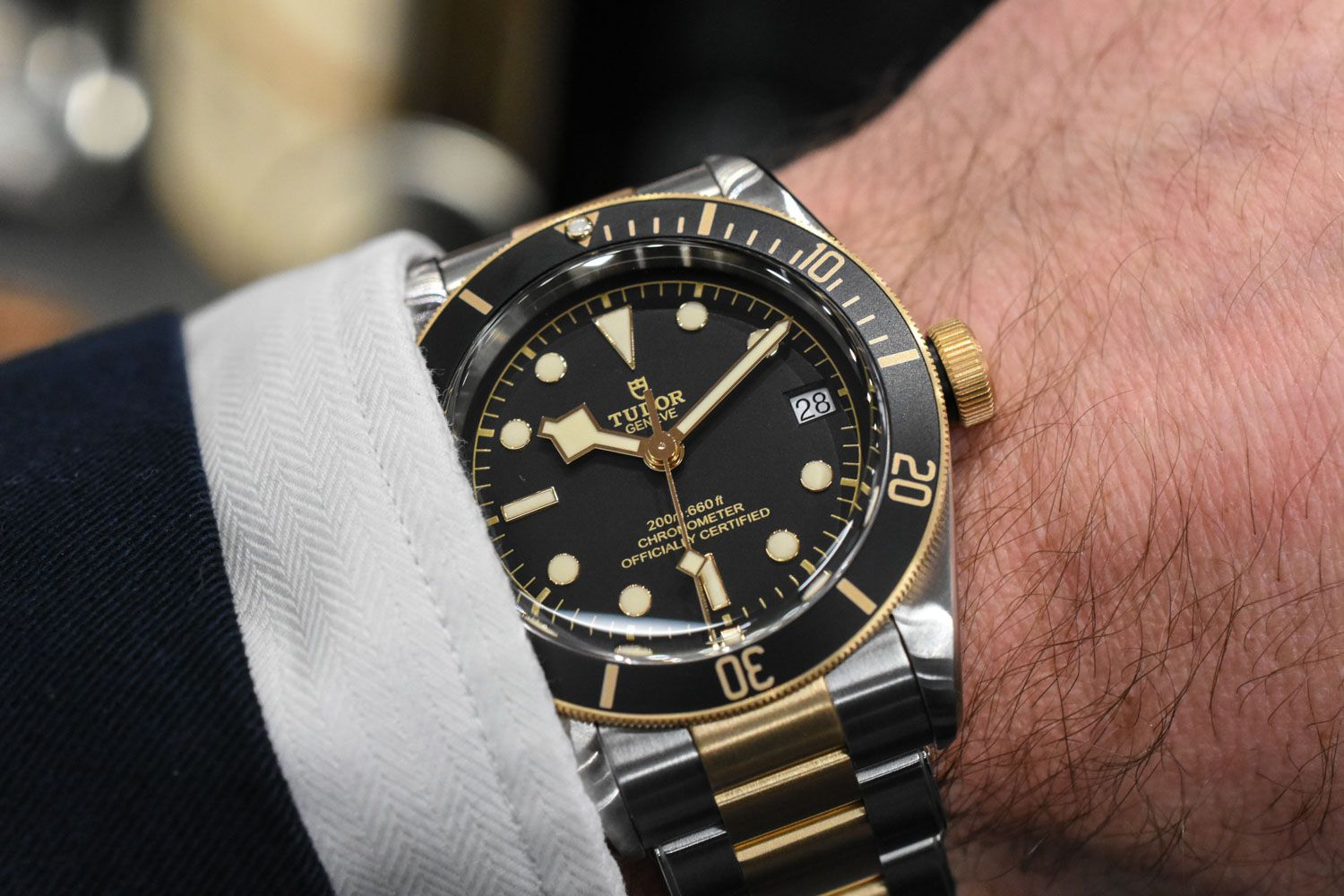 1f59b7d97b62 Tudor Black Bay Steel-Gold-0921. Find this Pin and more on watches by  288448402019333.