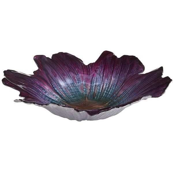 Pier 40 Imports Luster Flower Decorative Bowl 40 Liked On Unique Pier 1 Decorative Bowls