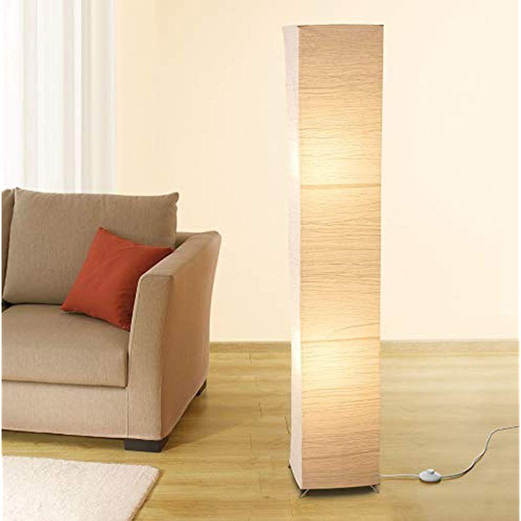 Trango StehlampeOslo modernem Design Reispapier Lampe in ...