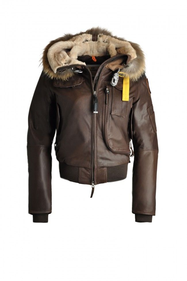parajumpers gobi leather jacket