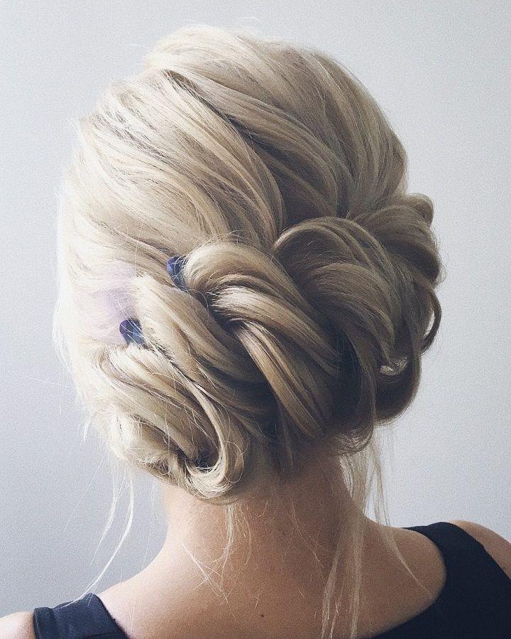 Gorgeous Braid With Messy Updo Wedding Hair Bridal