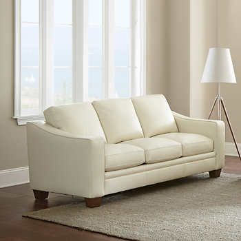 Mansell Top Grain Leather Sofa | house refresh | Leather ...