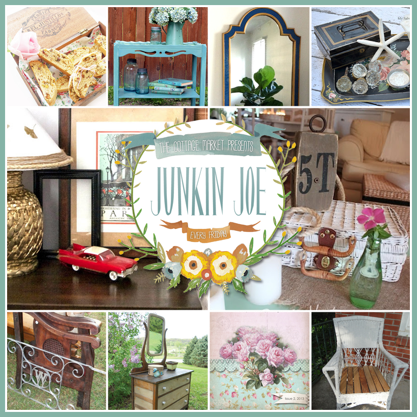 Vintage and Thrifty Upcycled Project and Finds