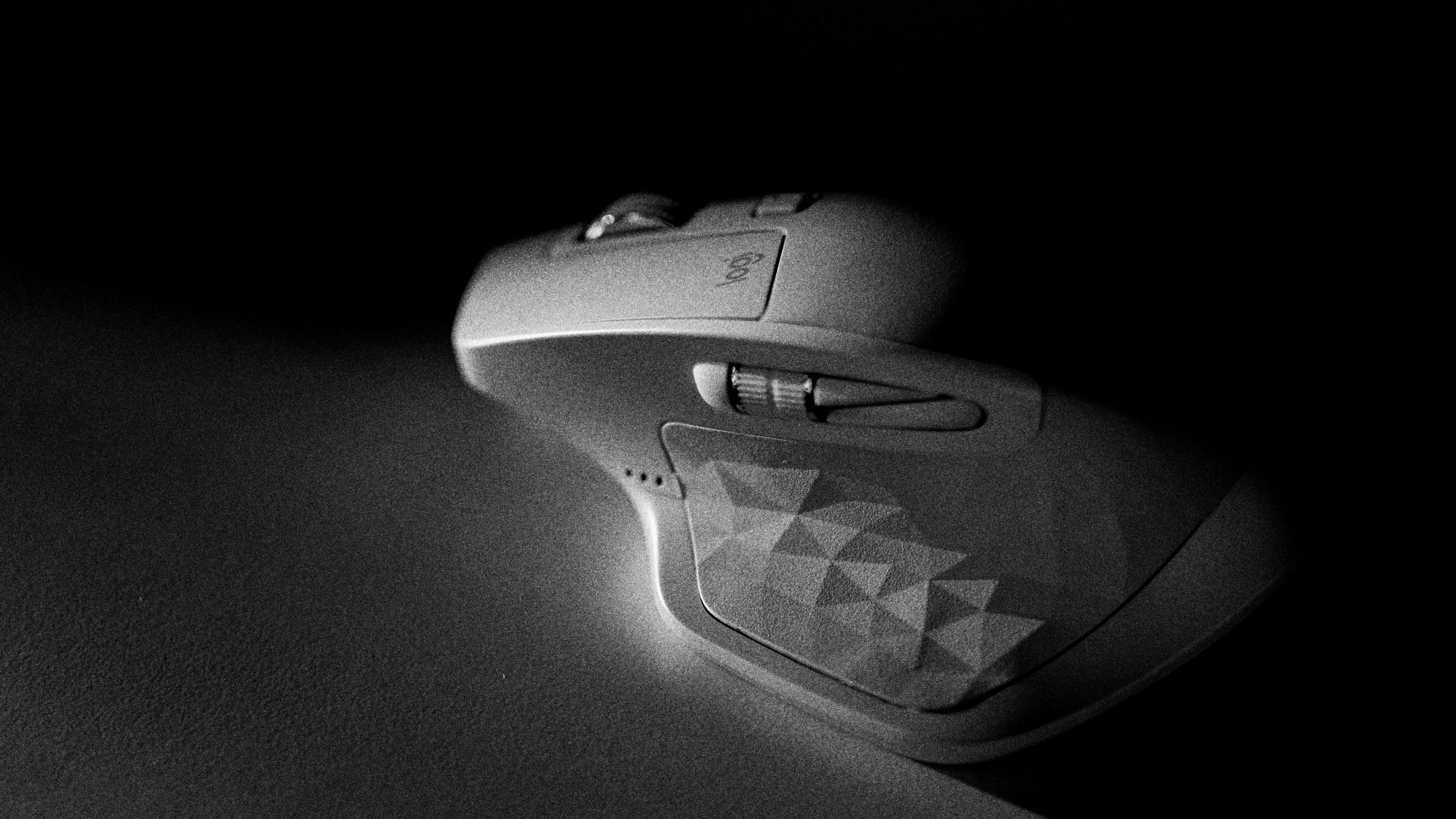 Mouse Computer Hardware Desk Logi Logitech Mx Master 2s Black And White Bnw Product Closeup Detail 4k Wal Logitech Logitech Mouse Logitech Keyboard
