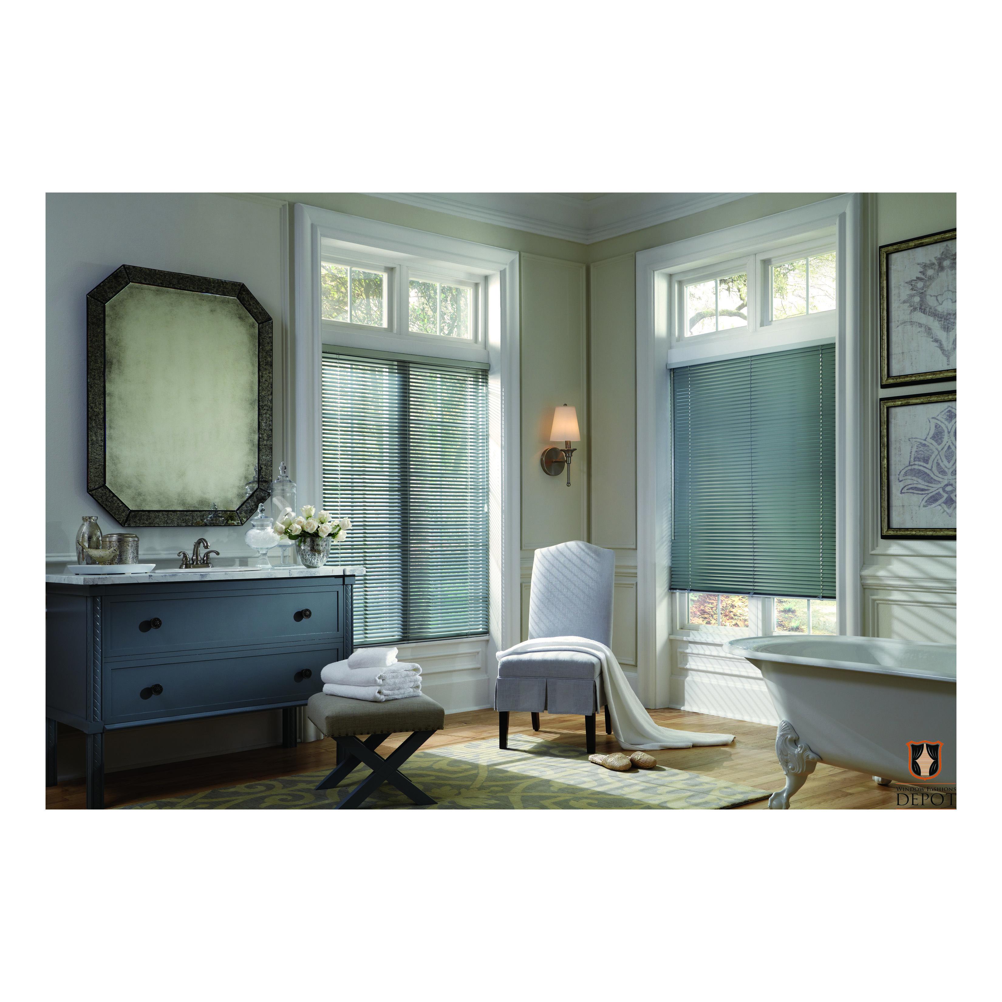 Window Treatments Interiordesign: Horizontal Blinds For Bathroom
