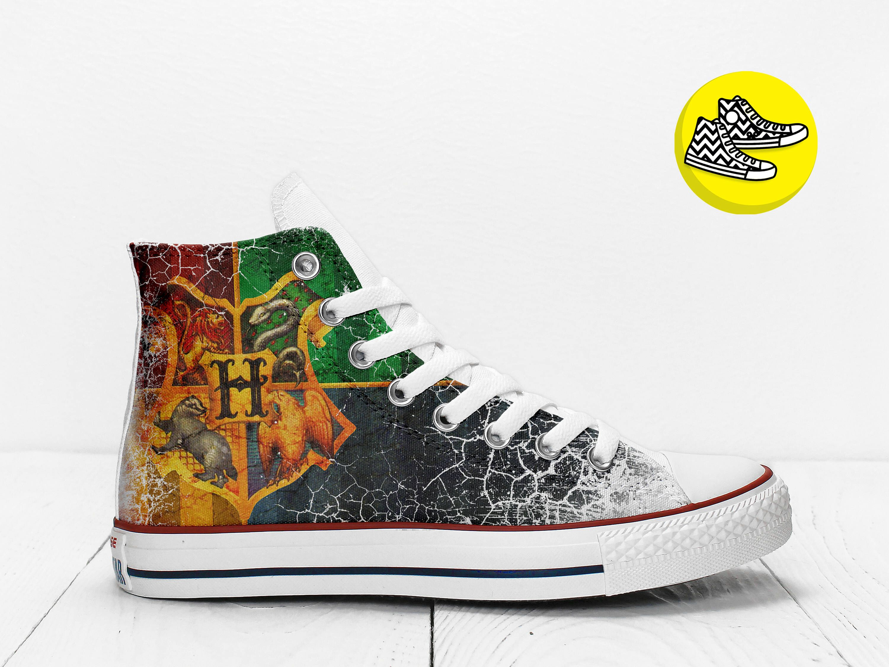 Converse All STar CUSTOMIZED  Sneaker Unisex printed Italian style Drops