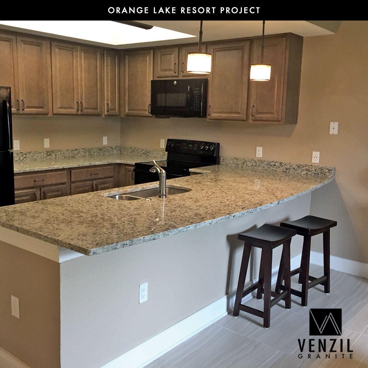 Orange Lake Resort Project Quality Work Done By Team Venzil Contact Us Venzilgranite Gmail Com 1 407 53567 Countertops Dream Kitchen Home Renovation