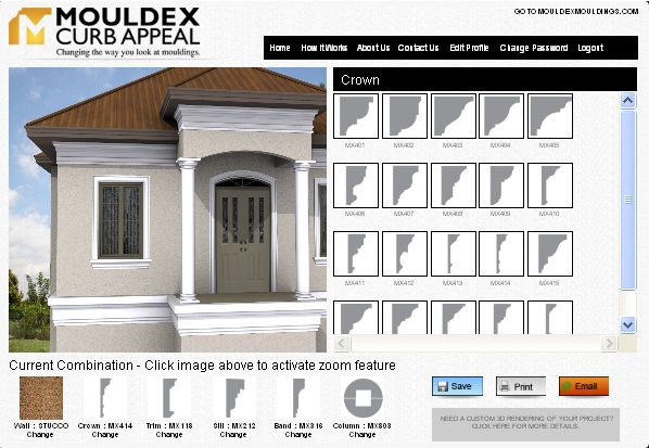 Stucco Mouldings Exterior