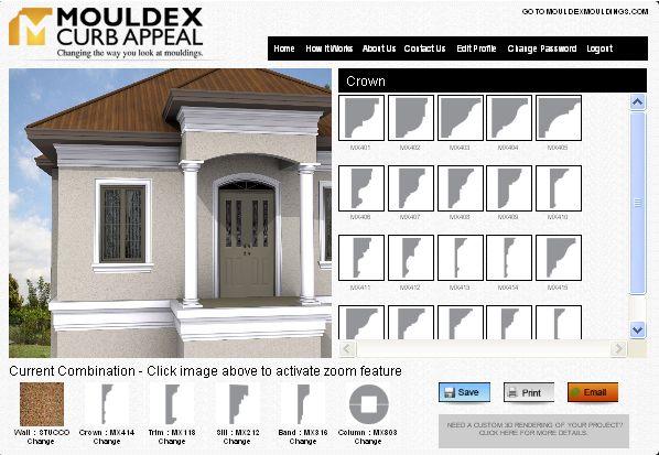 Stucco mouldings exterior download foam design center - Exterior decorative foam molding ...