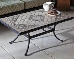 Tavolo Mosaico ~ Tavolo terrazzo mosaico completo di poltrone in ferro forgiato