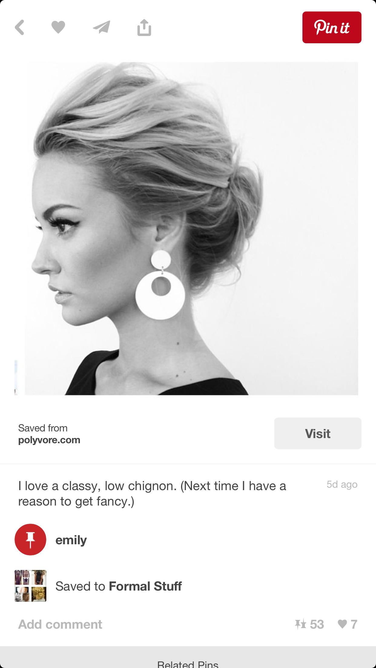 Pin by Liz Weinstein on hairstyles | Pinterest