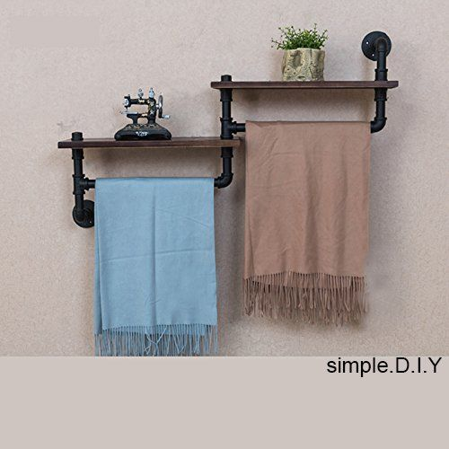 Amazon Com Wgx Design For You Wgx Towel Racks For Bathroom Rustic