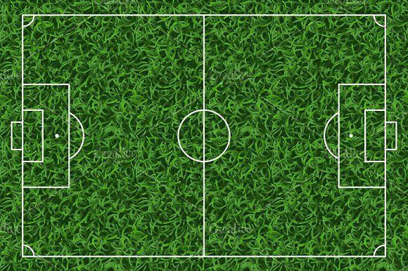 Football Soccer Green Grass Field Vector Background Graphics Football Soccer Green Gr Soccer Backgrounds Vector Background Graphics Infographic Design Layout