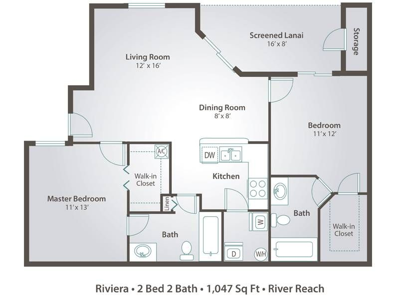 2 Bedroom Apartment Floor Plans Pricing River Reach Naples Fl Floor Plans 2 Bedroom Apartment Floor Plan Apartment Floor Plans