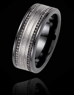 For Him Men S Wedding Ring Maybe An Upgrade On One Of Our