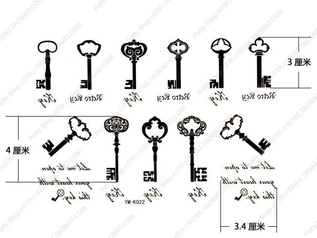 key tiny tattoos - Google Search | Tattoos | Pinterest | Tattoo and Tatoo