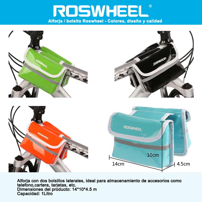 Mochila De Hidratación + Bolsa De Agua 2 Litros - Roswheel