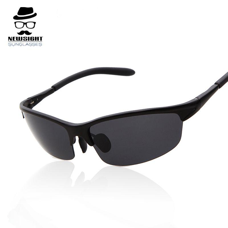 Hot Sale Men Polarized Sunglasses Fashion Driving Sun Glasses Half Frame Sunglass  Oculos De Sol Masculino 43bf592ef9