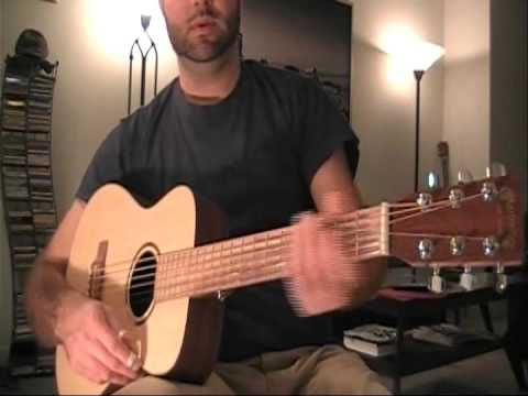 Beginning Finger Picking Guitar and Delta Blues Patterns Open D