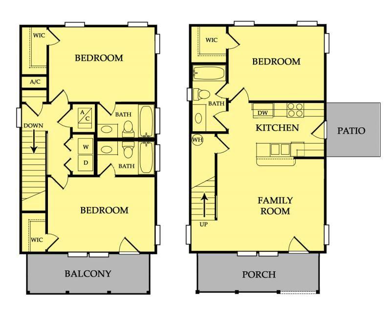 Cob house floor plans row house floor plans house for Row housing plans