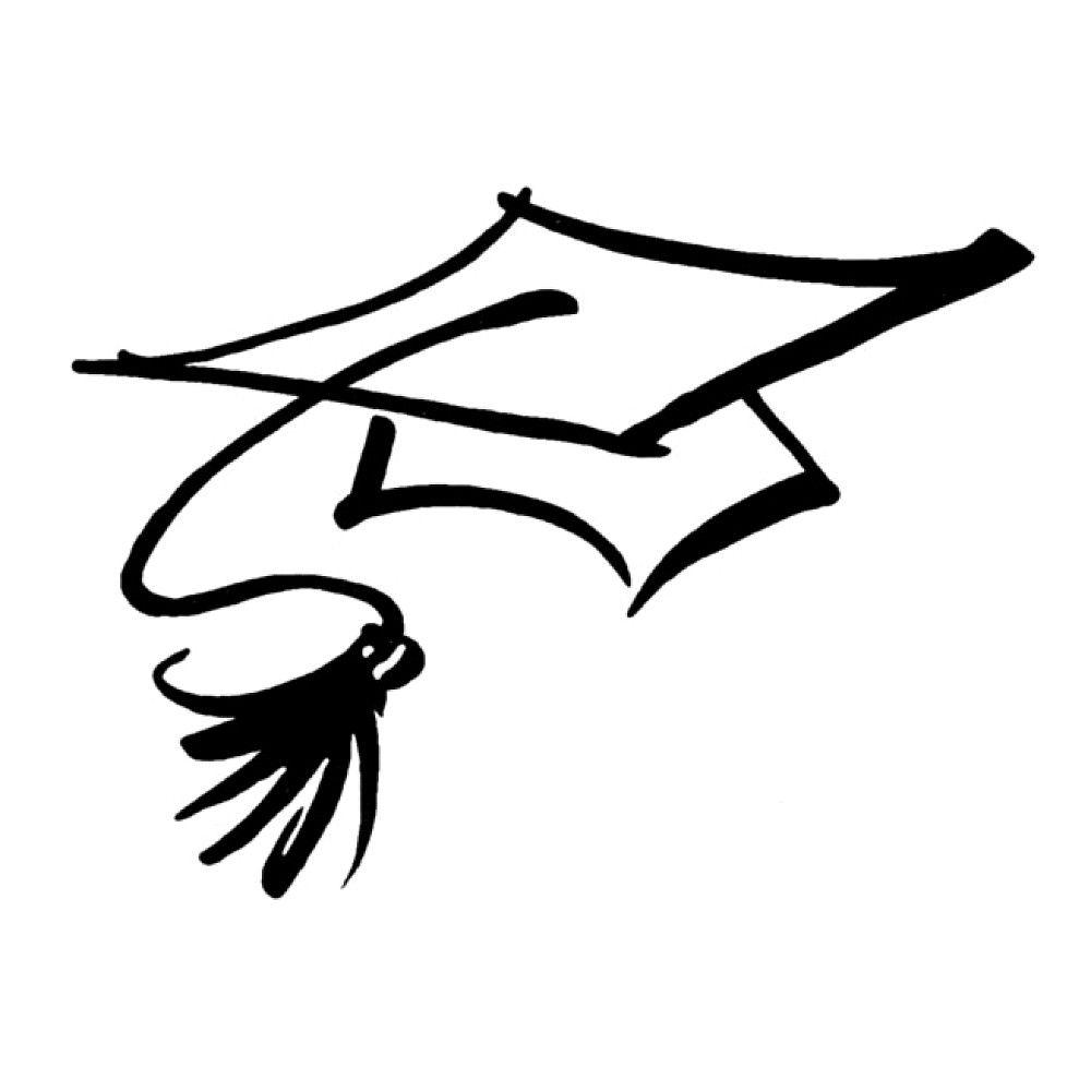 Free coloring pages graduation caps - Graduation Caps