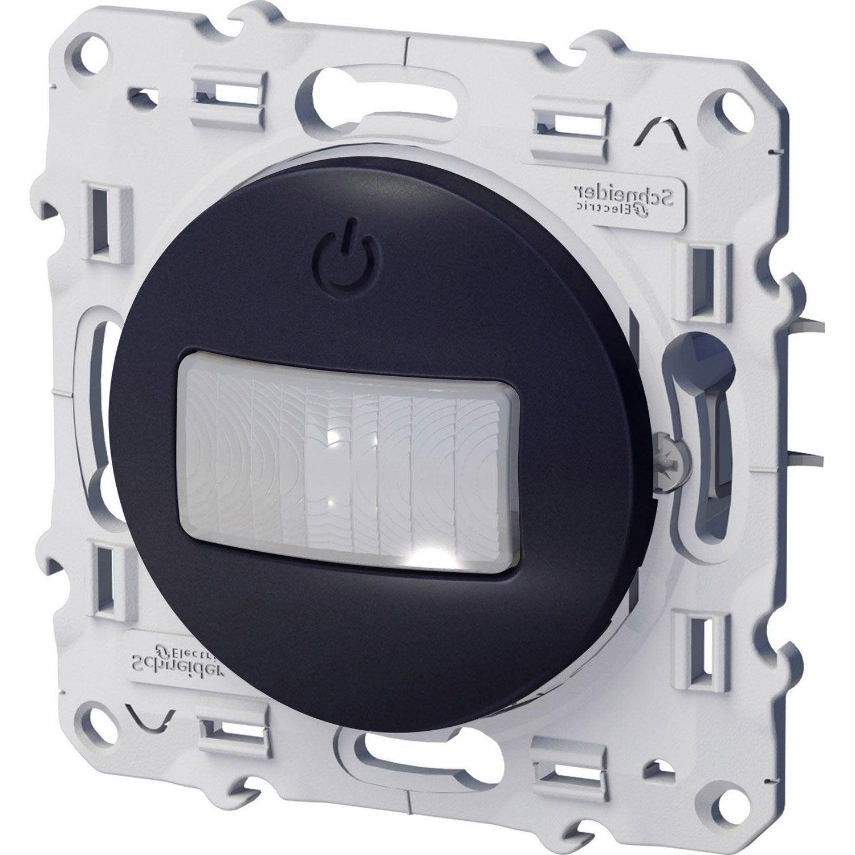 Interrupteur Automatique Odace Schneider Electric Gris Anthracite Interrupteur Automatique Interrupteurs Et Detecteur De Mouvement