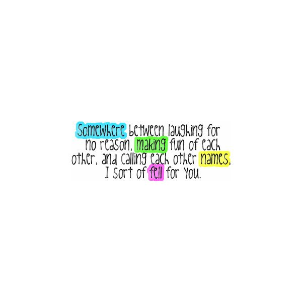 Love Quotes, Sweet Love Quotes, Love Teenage Quotes, Crush and Love... ❤ liked on Polyvore featuring quotes, words, text, love, sayings, phrases, filler and saying