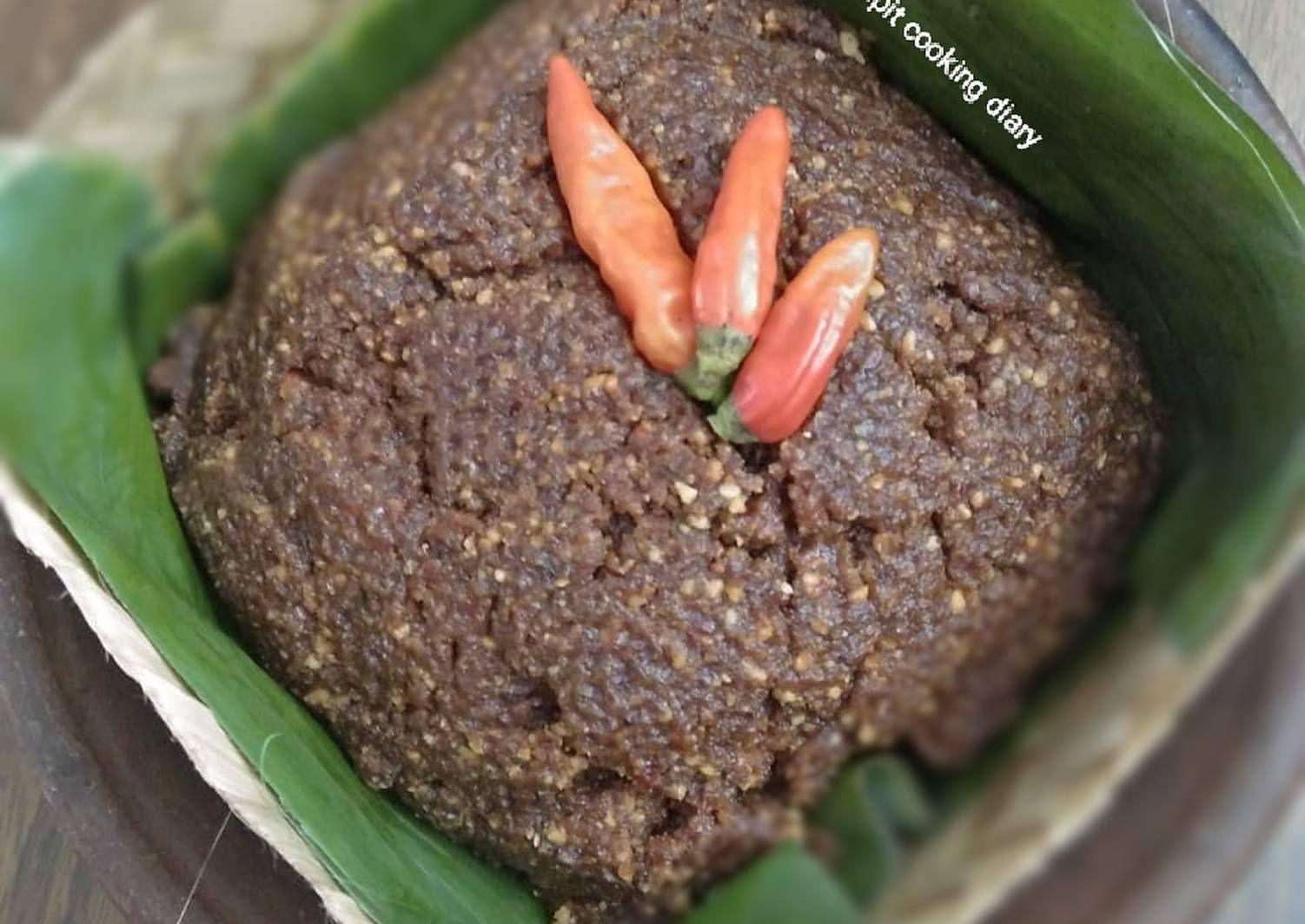 Resep Bumbu Pecel Madiun Ala Bu Fauzi Oleh Pitraratri Resep Makanan Makanan Rumahan Hidangan Penutup