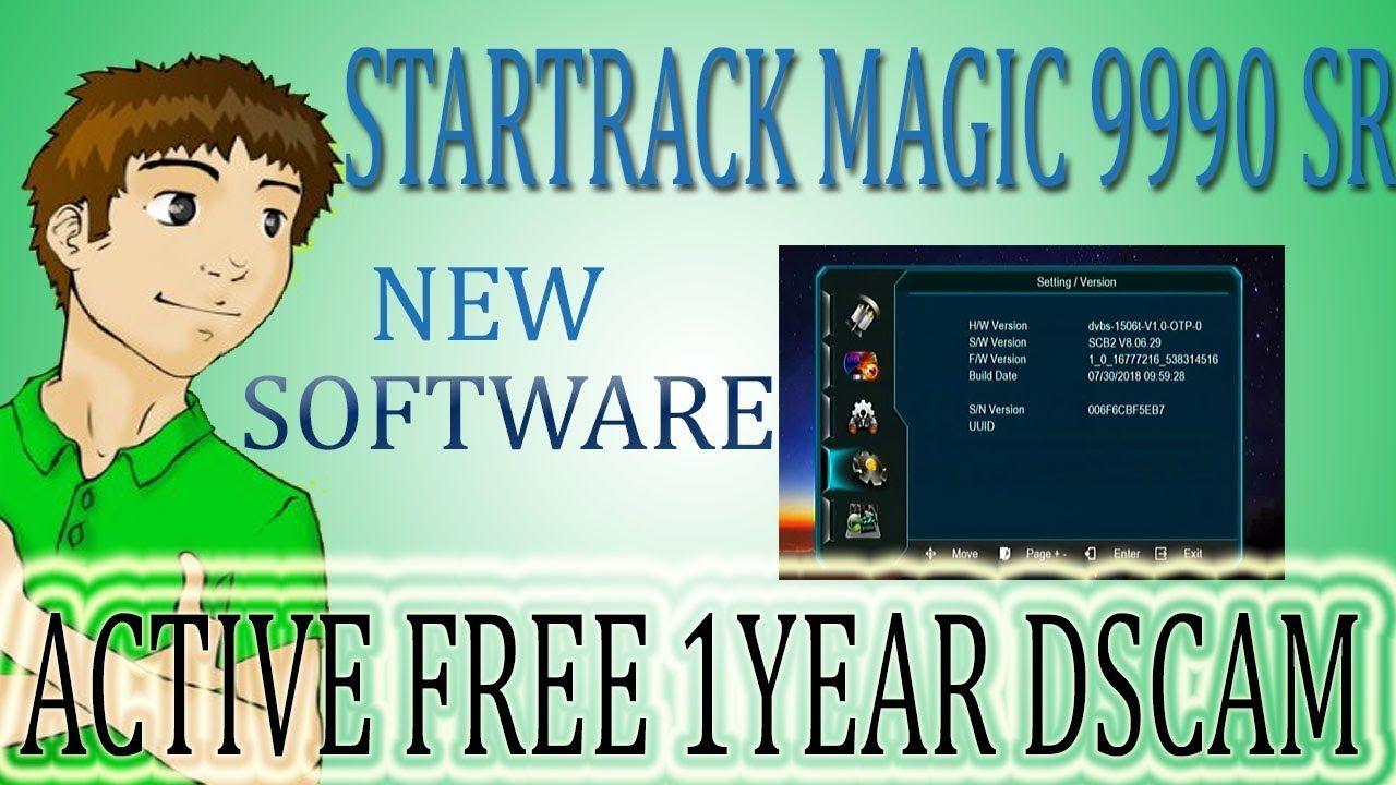 GOOD NEWS STARTRACK MAGIC 9990 SR NEW SIM MODEL SOFTWARE AND GET