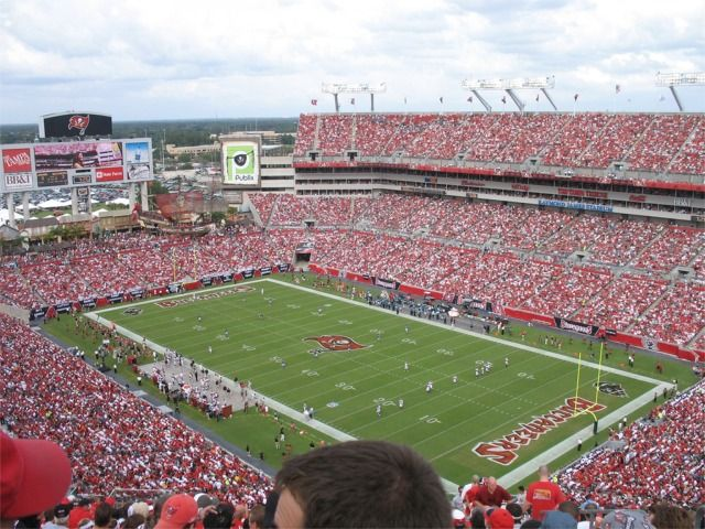 Raymond James Stadium Tampa Florida I Saw The Game In Which Kordell Stewart Was Benched Tampa Bay Buccaneers Football Tampa Bay Buccaneers Football Stadiums
