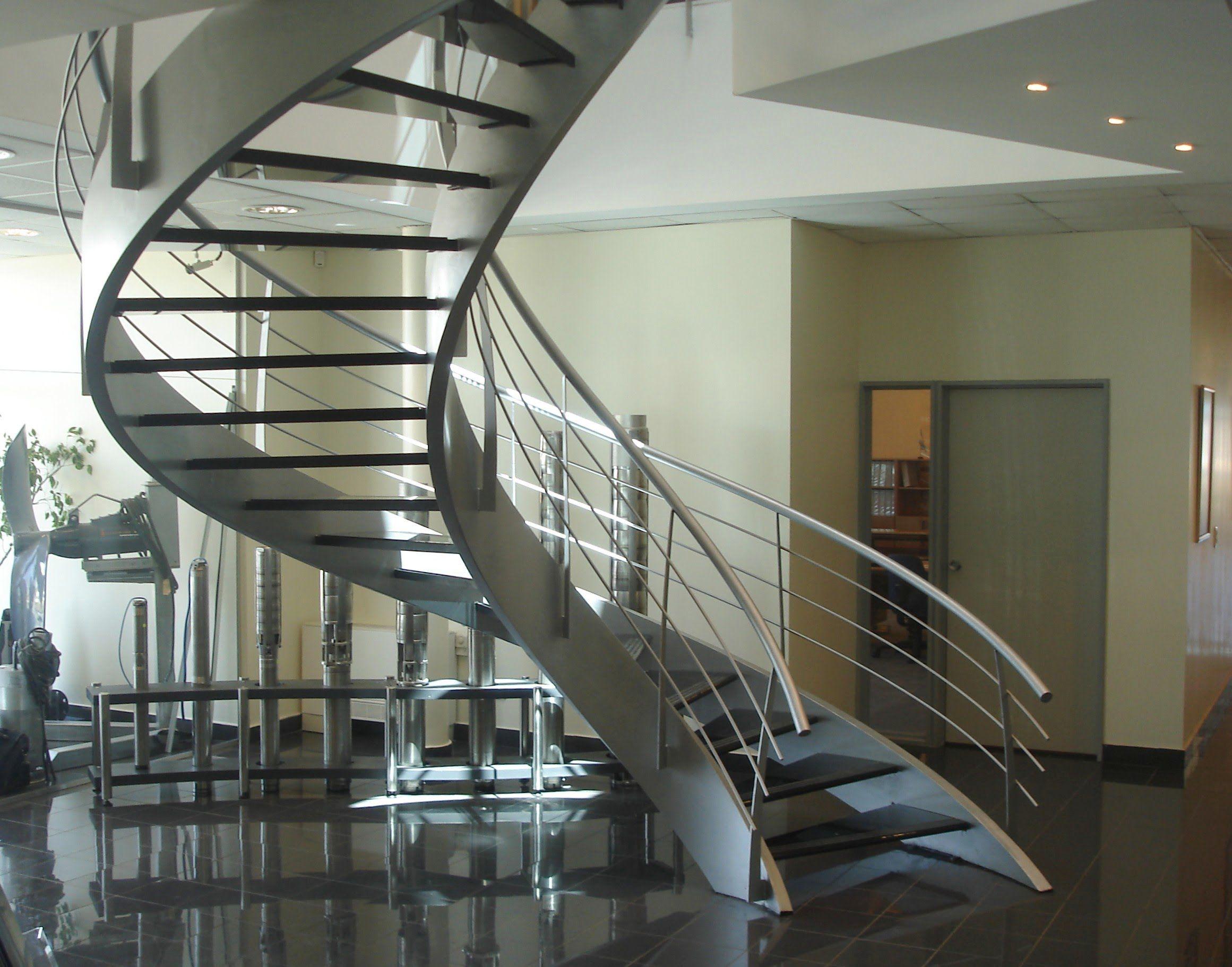 Una muestra de escaleras y barandas Eleve, estilos, diseños para ...