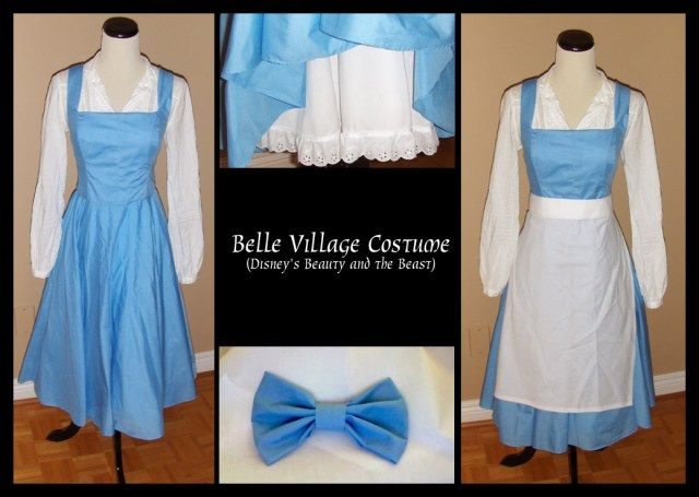 Exactly how I want my Belle costume to look. I will be ...