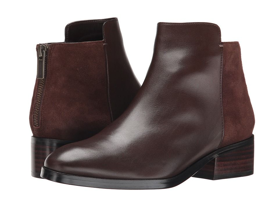 COLE HAAN COLE HAAN - ELION BOOTIE (CHESTNUT LEATHER) WOMEN'S PULL-ON BOOTS