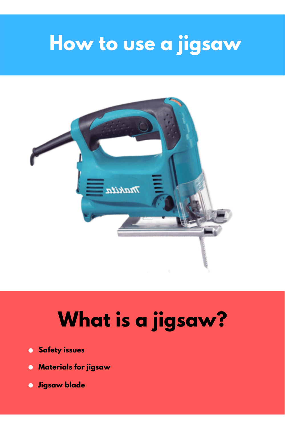 How to use a jigsaw in 2020 | Jigsaw, Power tools, Being used