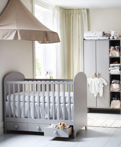 Us Furniture And Home Furnishings Ikea Crib Ikea Baby Room Ikea Baby